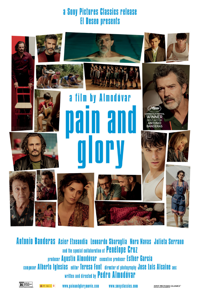 Pain and Glory Movie Poster